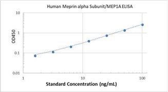 Picture of Human Meprin alpha Subunit/MEP1A ELISA Kit