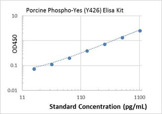 Picture of Porcine Phospho-Yes (Y426) ELISA Kit