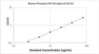 Picture of Bovine Phospho-FGF R2 alpha ELISA Kit