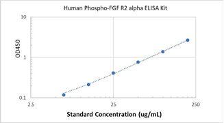 Picture of Human Phospho-FGF R2 alpha ELISA Kit