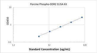 Picture of Porcine Phospho-DDR2 ELISA Kit