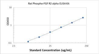 Picture of Rat Phospho-FGF R2 alpha ELISA Kit
