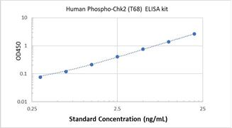 Picture of Human Phospho-Chk2 (T68) ELISA Kit