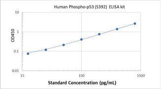 Picture of Human Phospho-p53 (S392) ELISA Kit