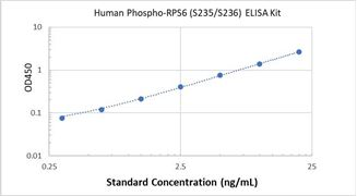 Picture of Human Phospho-RPS6 (S235/S236) ELISA Kit